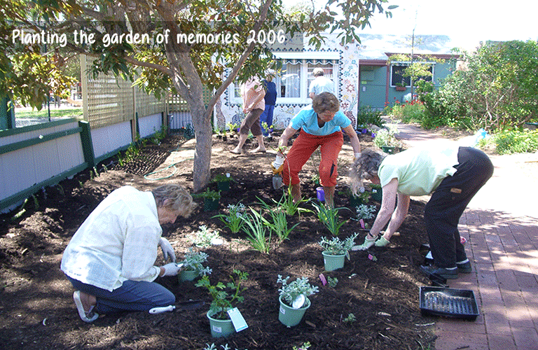 planting the garden of memories